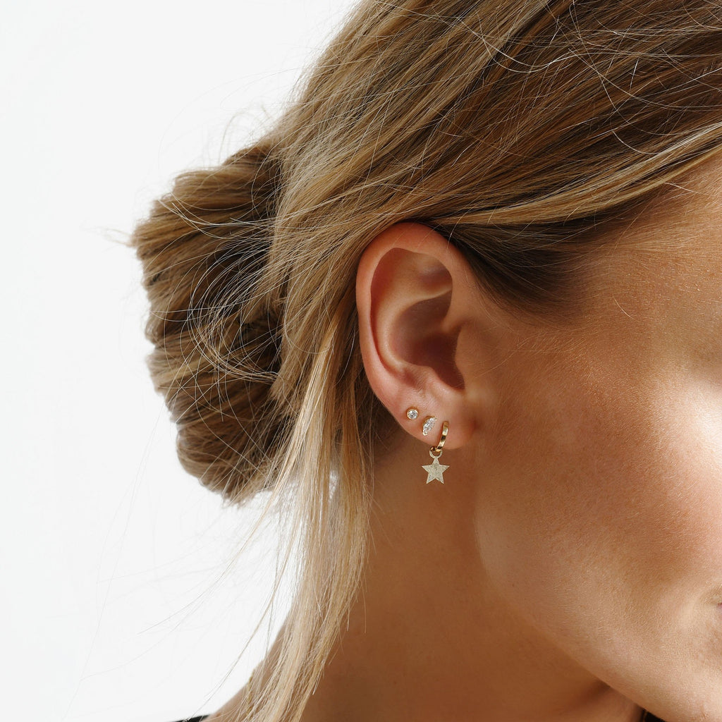 Marquise Wink Studs