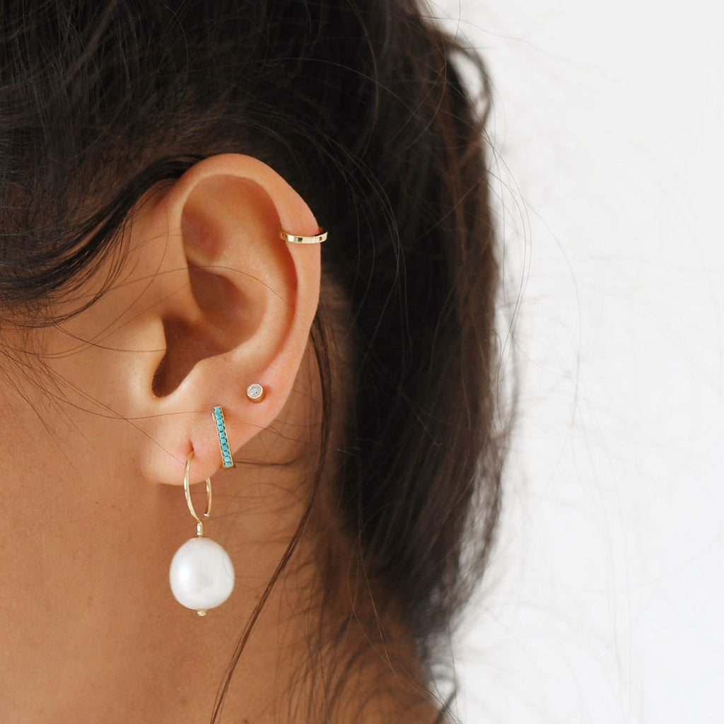 Petite Hoops -- Ariel Gordon Jewelry