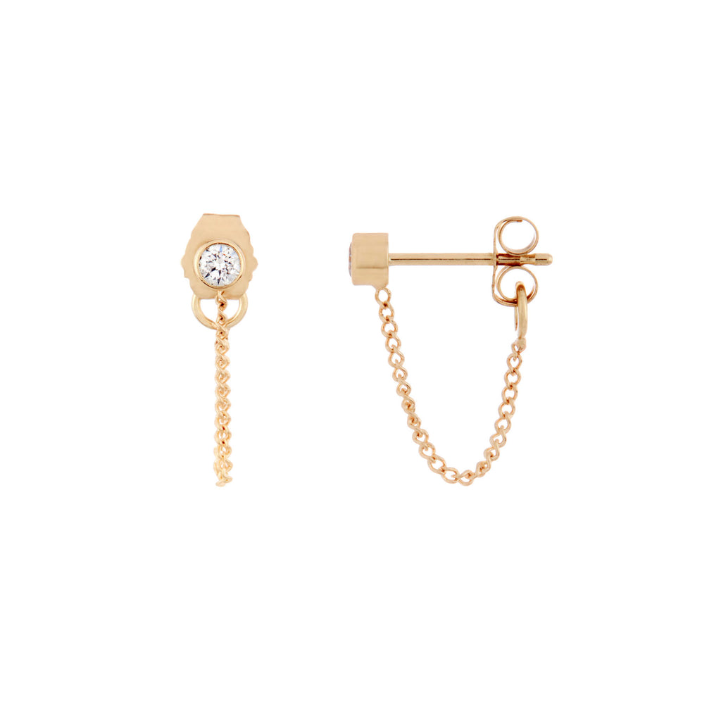 Everyday Chain Studs -- Ariel Gordon Jewelry