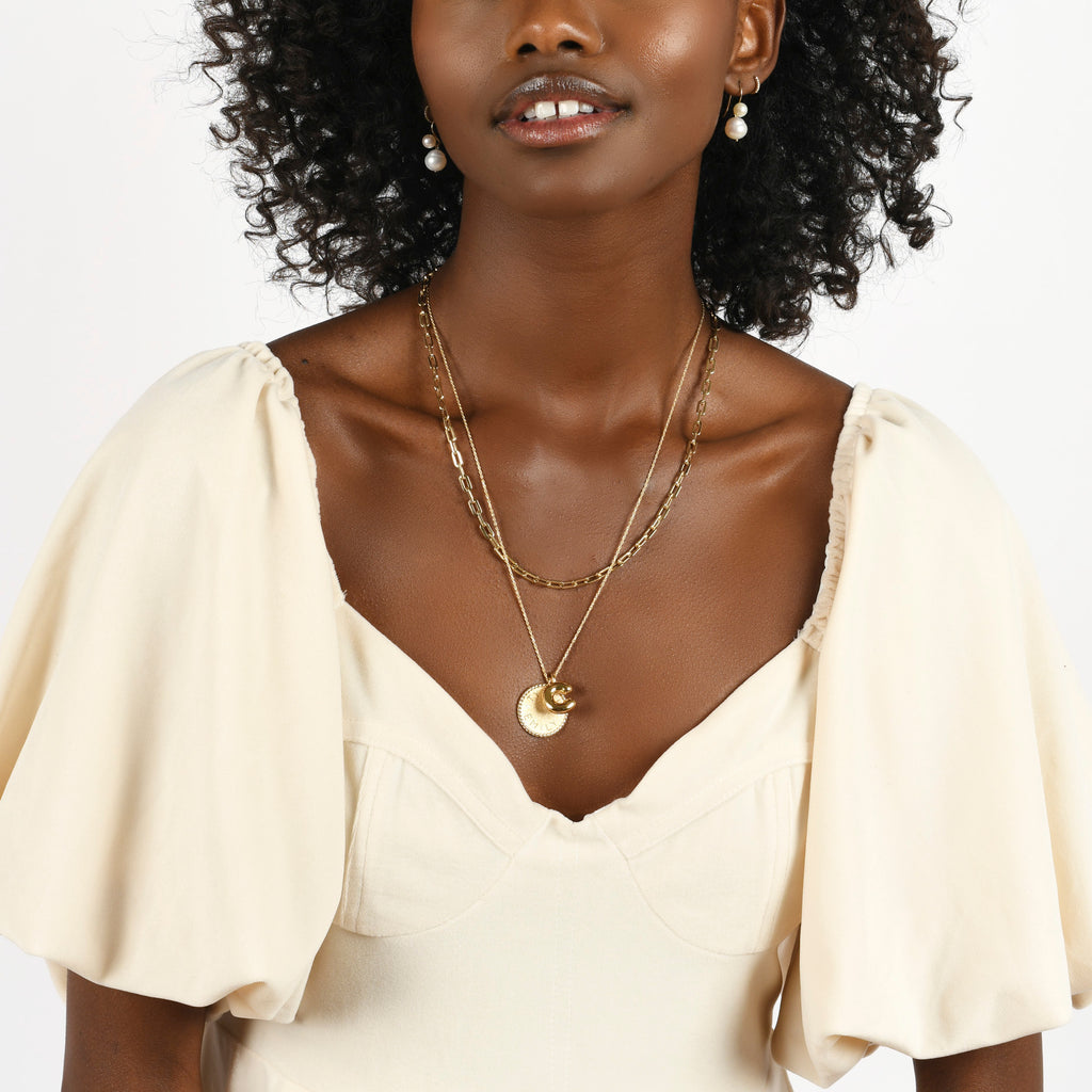 Classic Link Necklace -- Ariel Gordon Jewelry