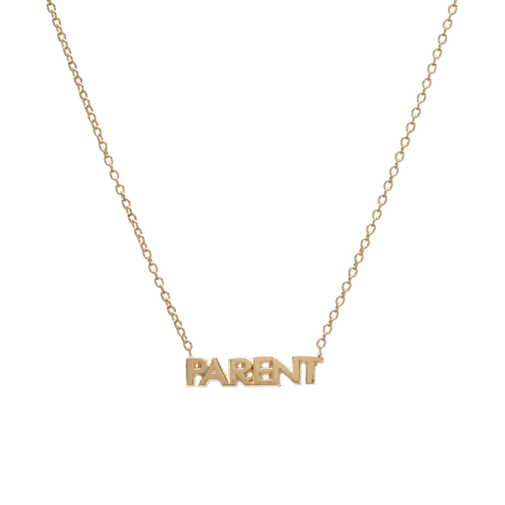 AGJ x LOOM Parent Necklace -- Ariel Gordon Jewelry