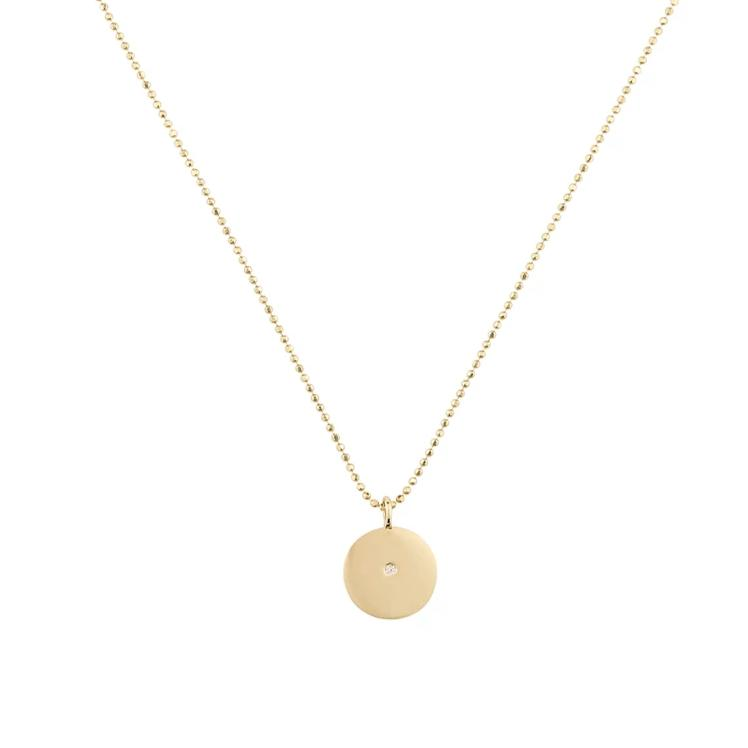 Little Circle Pendant Necklace
