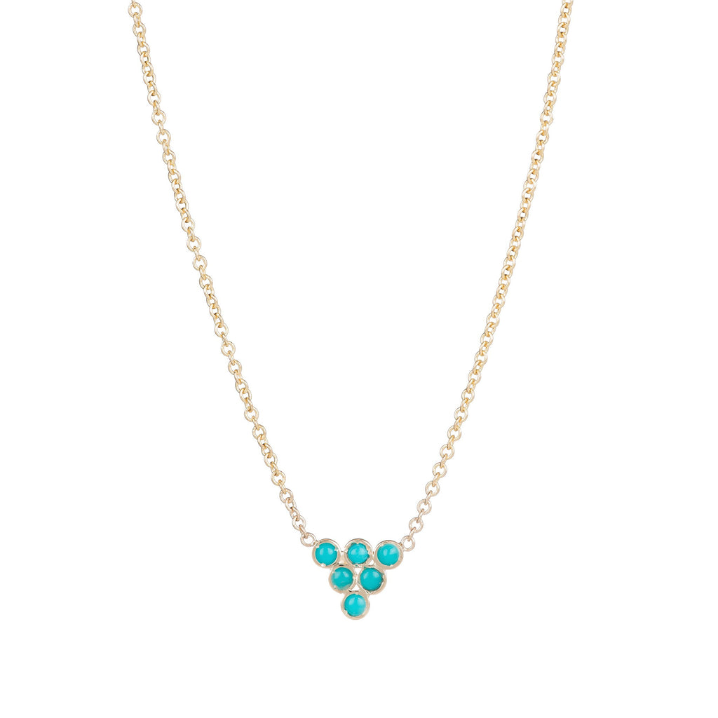 Turquoise Triad Necklace