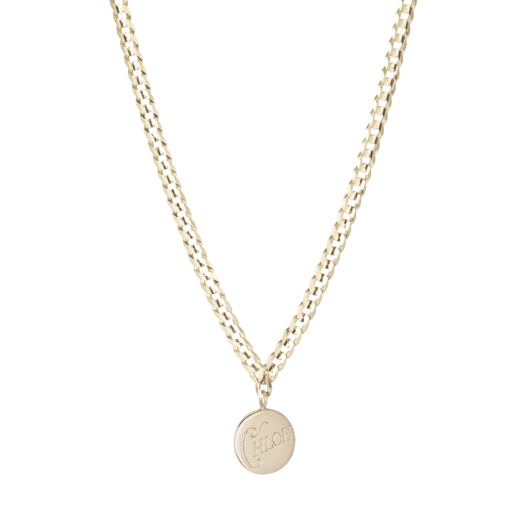 Medallion Signet Necklace -- Ariel Gordon Jewelry