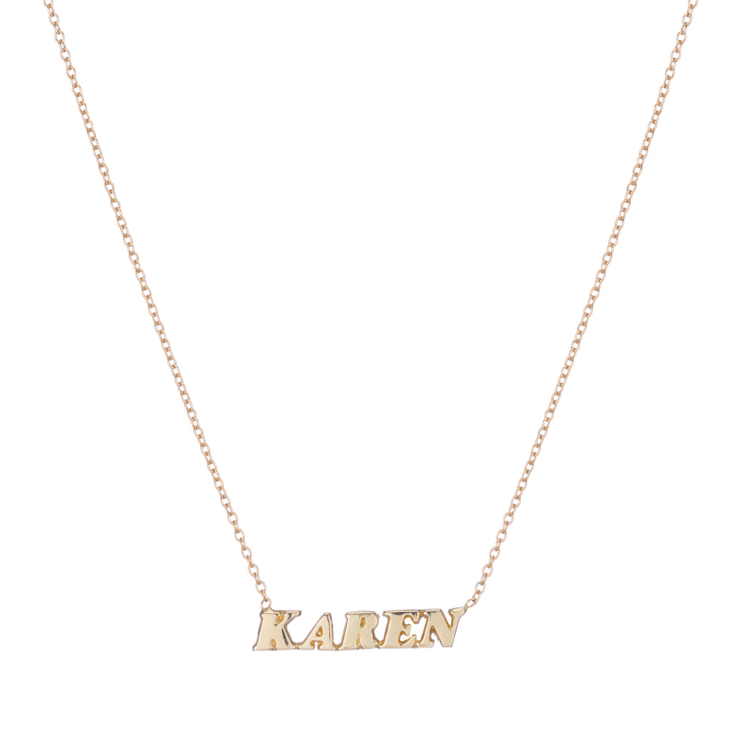 Name It Necklace