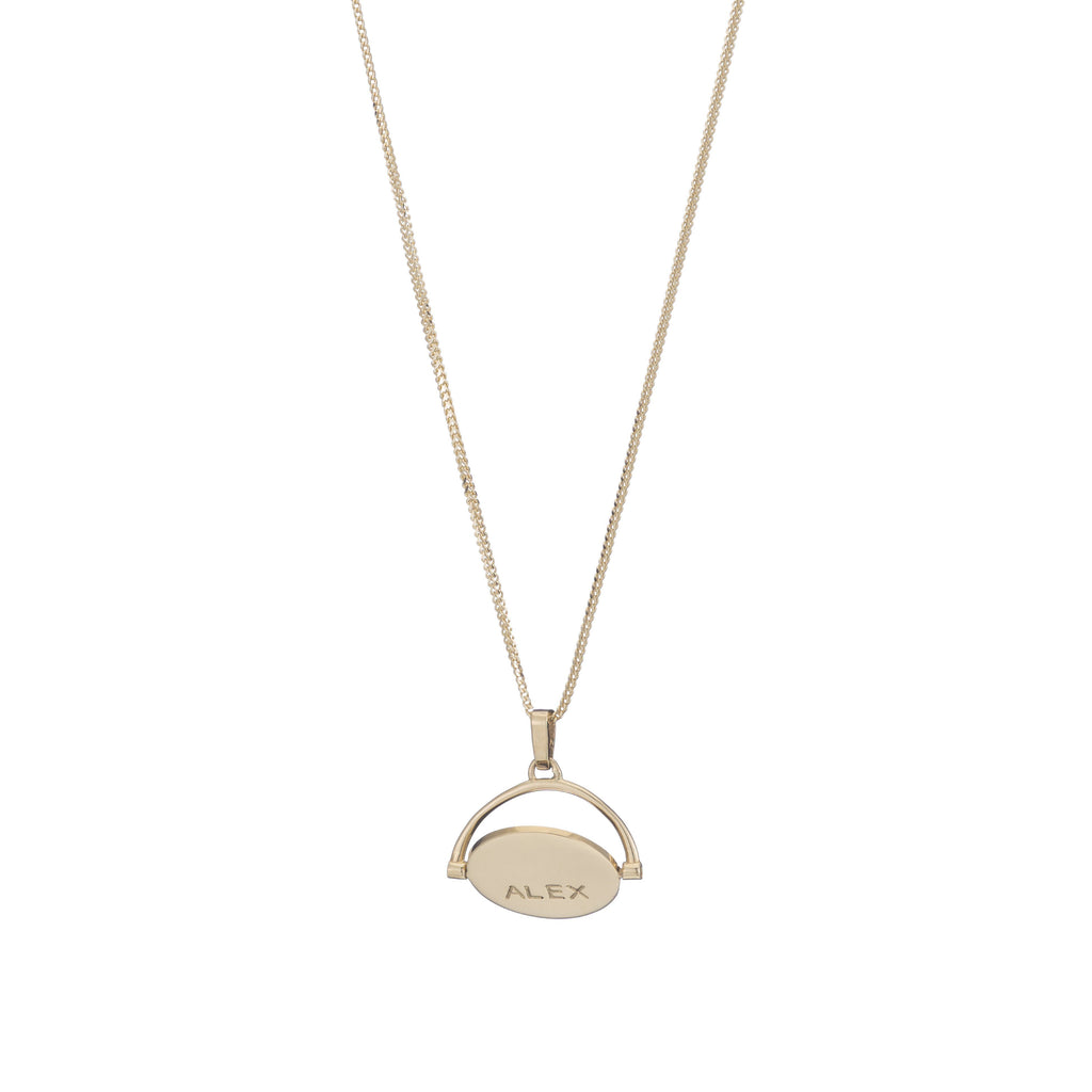 Pirouette Fob Necklace