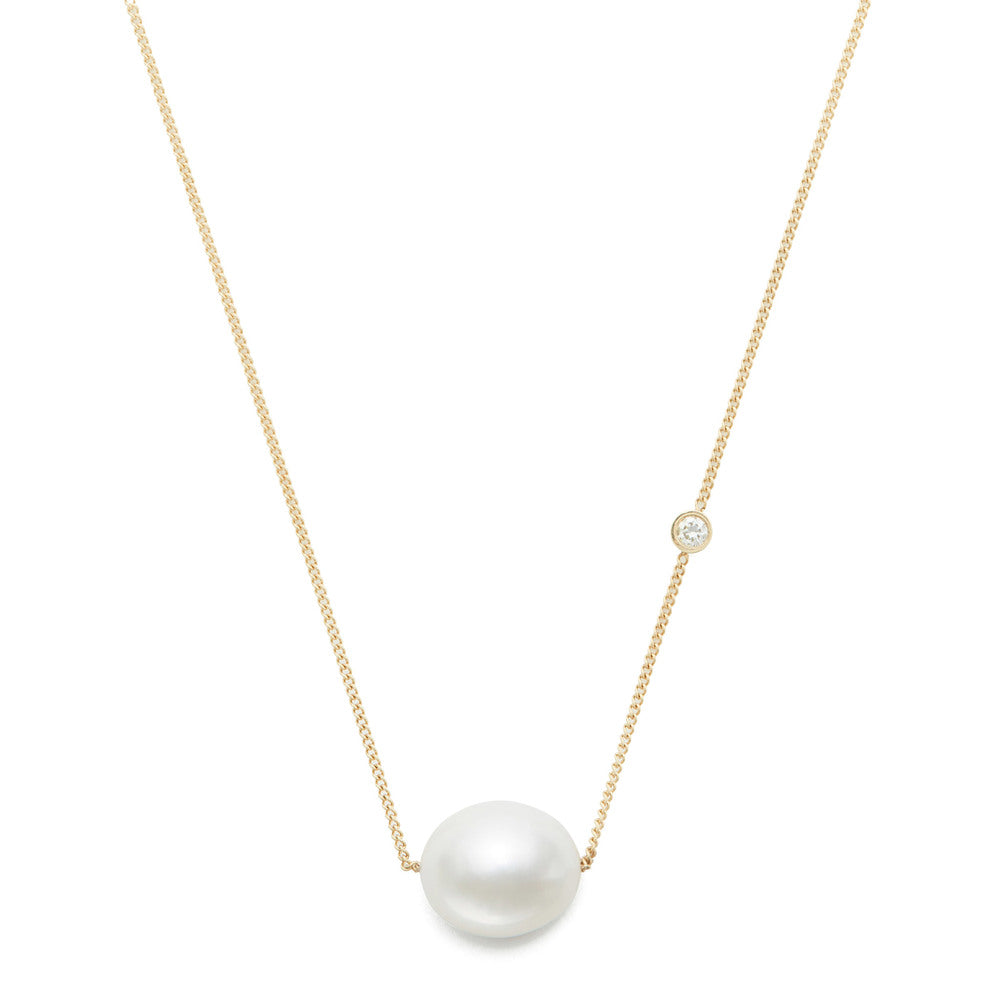 Baroque Pearl Duo Necklace