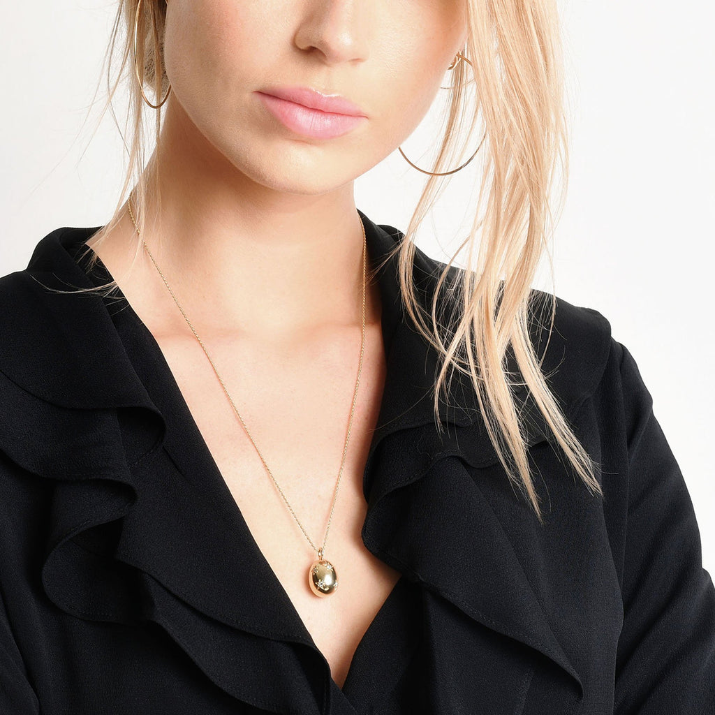 Golden Goose Pendant -- Ariel Gordon Jewelry