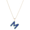 Fridge Magnet Initial Pendant -- Ariel Gordon Jewelry