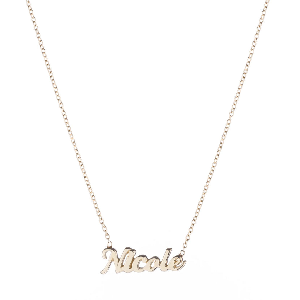 Script Name It Necklace -- Ariel Gordon Jewelry