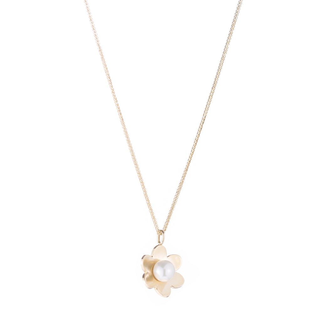 Lido Flower Pendant -- Ariel Gordon Jewelry
