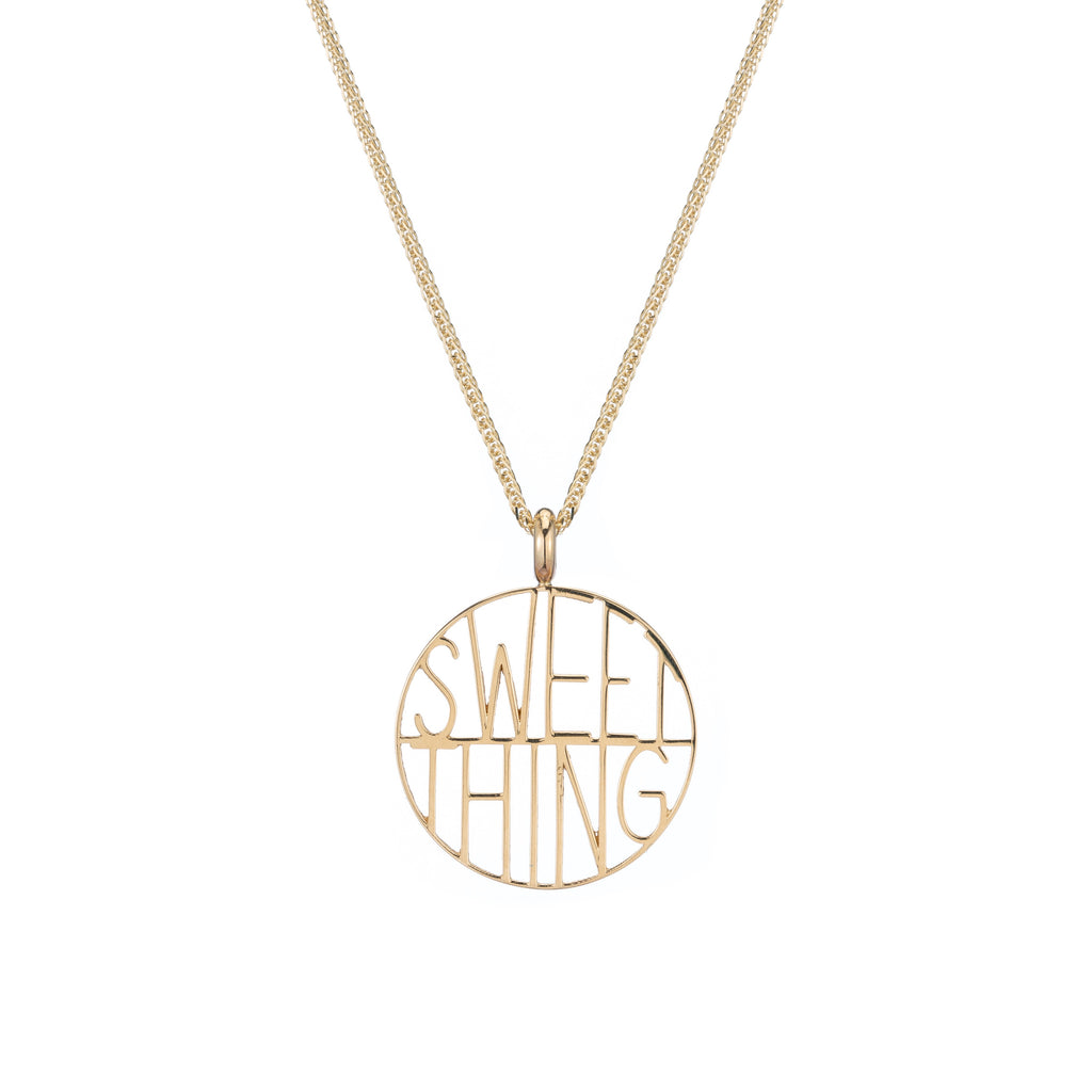 Sweet Thing Token Pendant -- Ariel Gordon Jewelry
