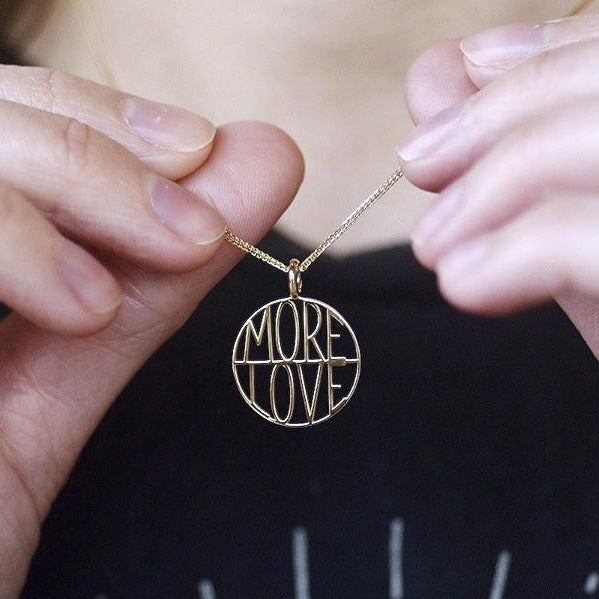More Love Token Pendant