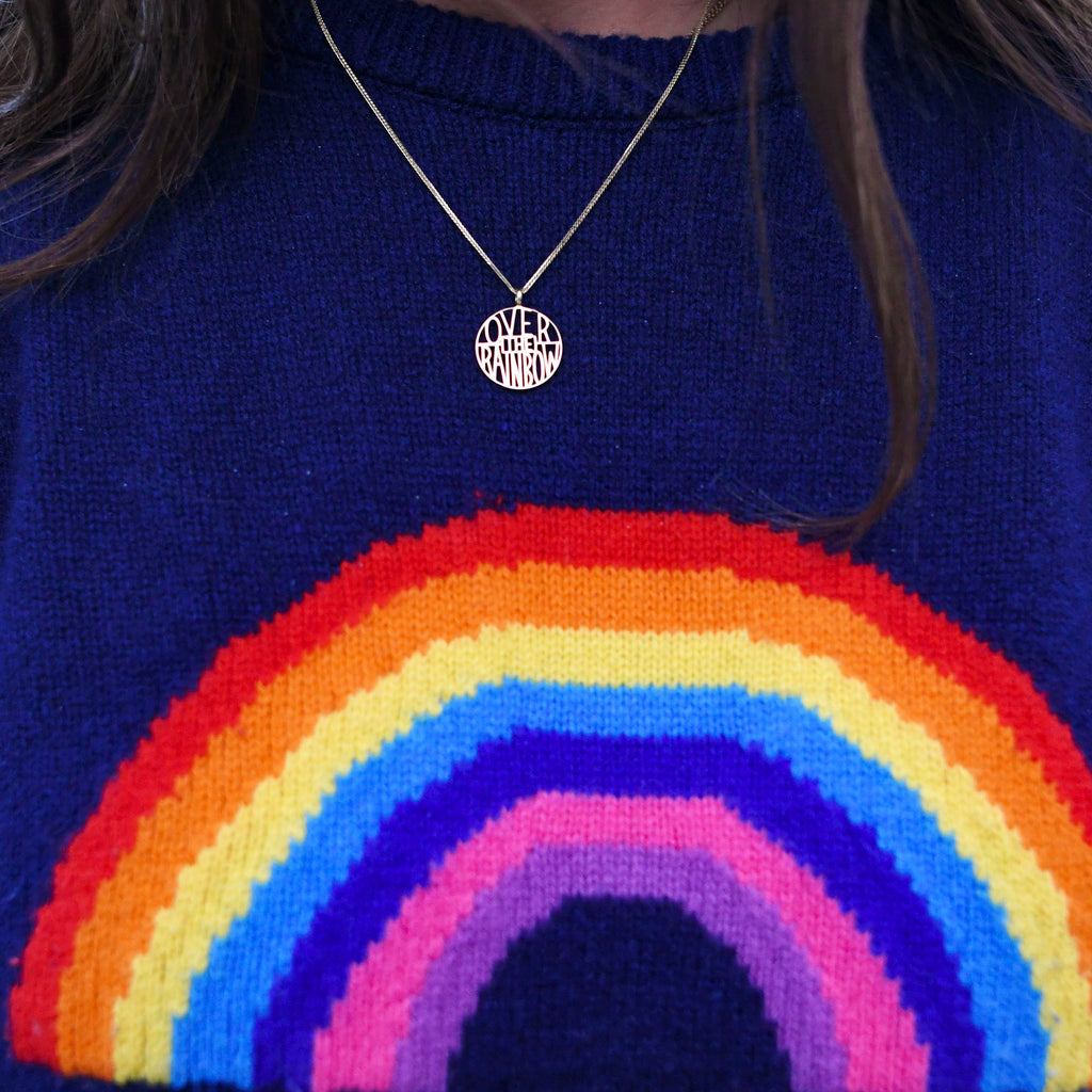 Over the Rainbow Token Pendant