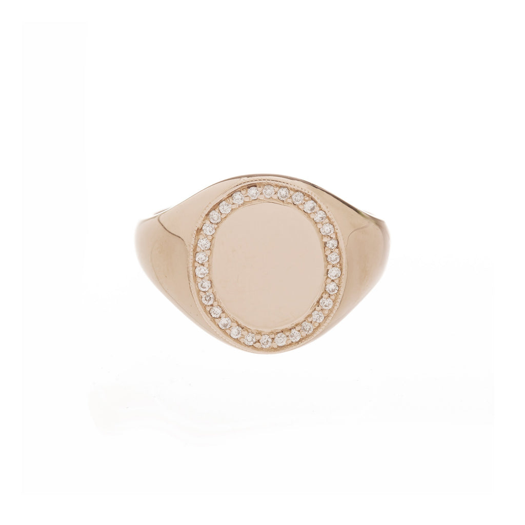 Jumbo Signet Ring -- Ariel Gordon Jewelry