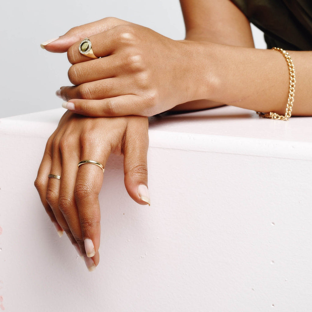 Skinny Tire Ring -- Ariel Gordon Jewelry