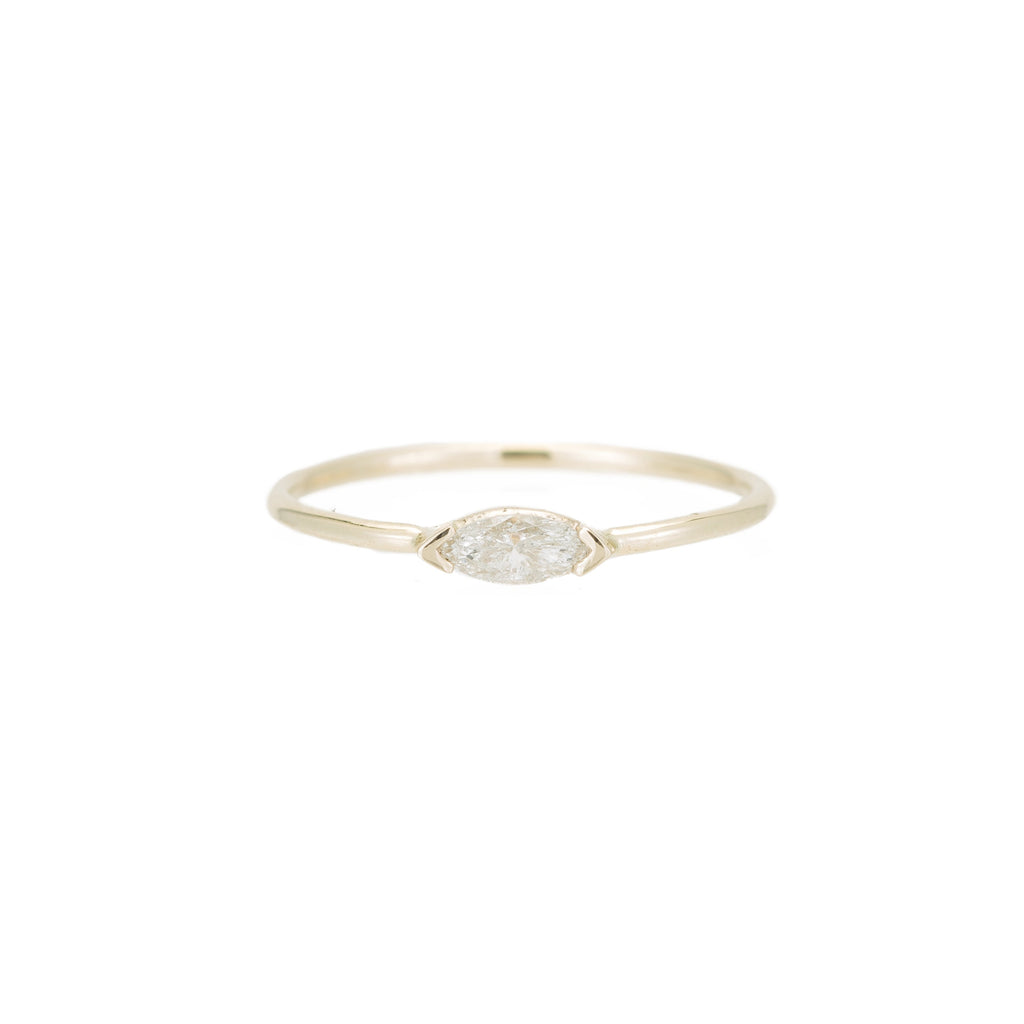 Marquise Wink Ring