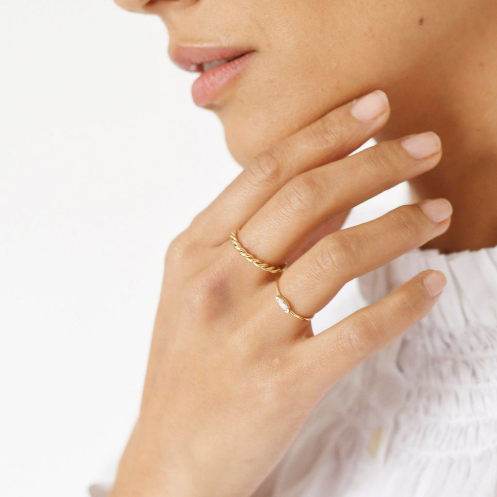 Marquise Wink Ring -- Ariel Gordon Jewelry