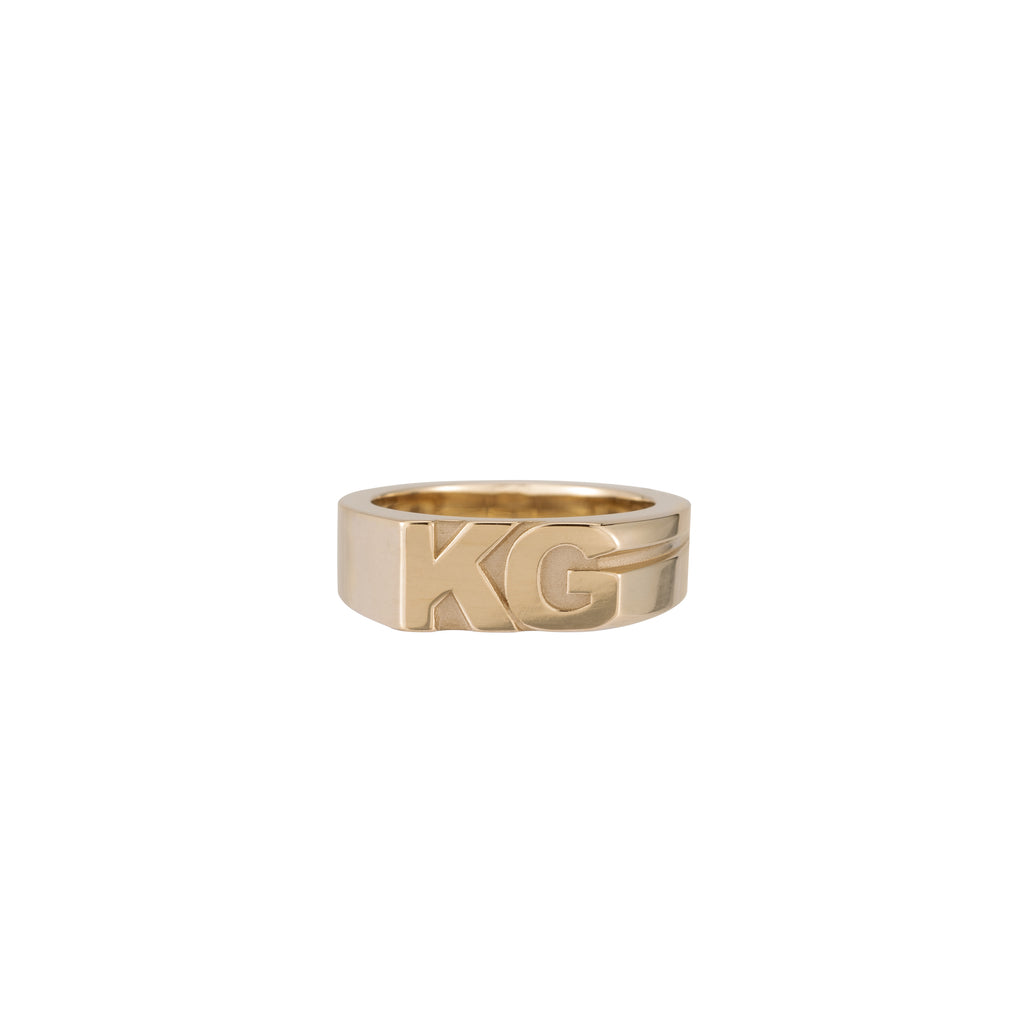Moniker Ring -- Ariel Gordon Jewelry