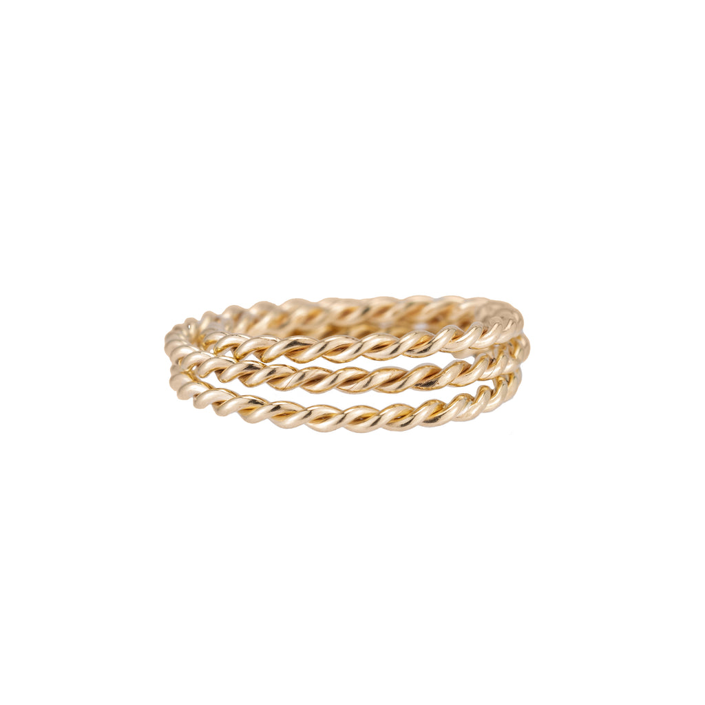 Skinny Twine Ring -- Ariel Gordon Jewelry