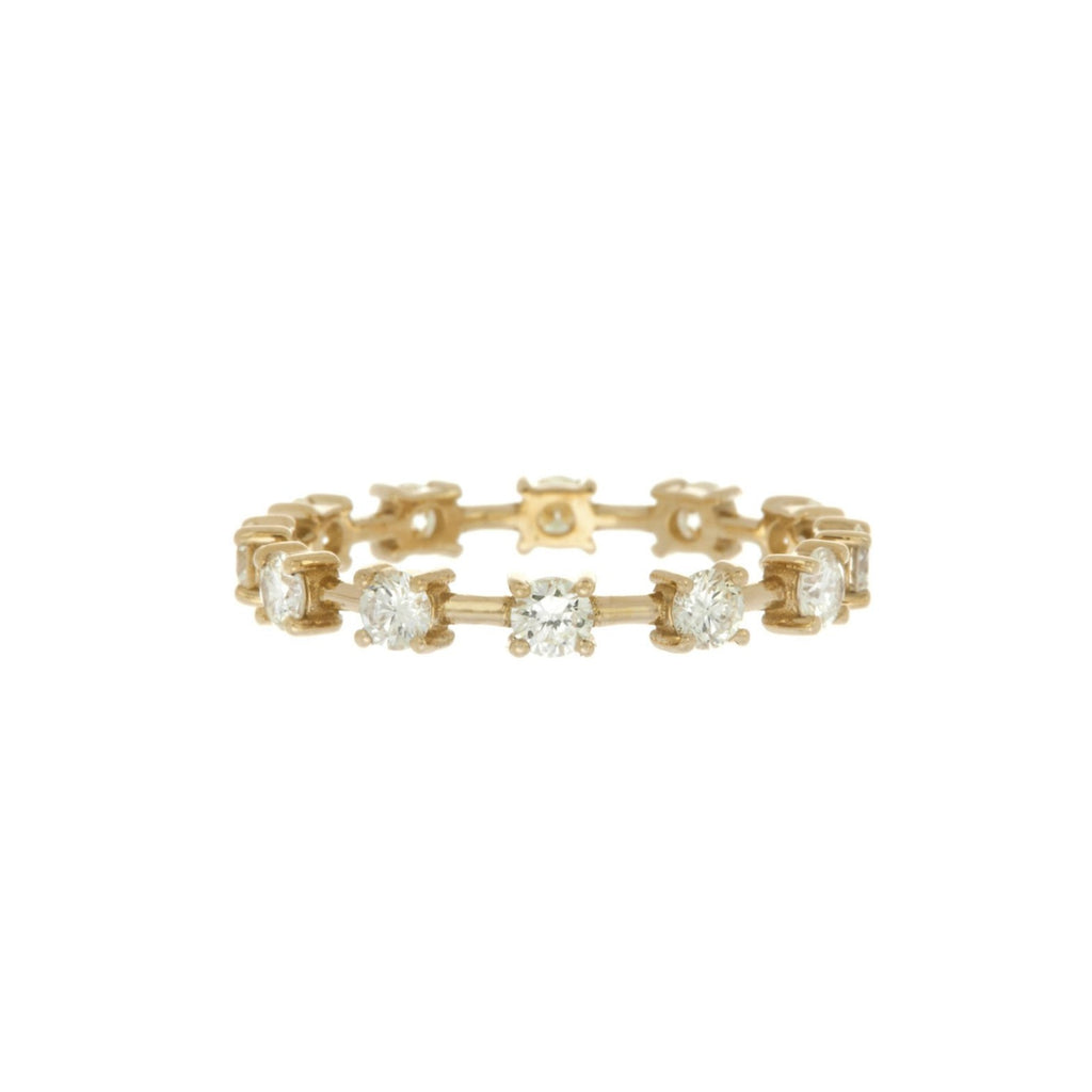 Diamond Tennis Eternity Band