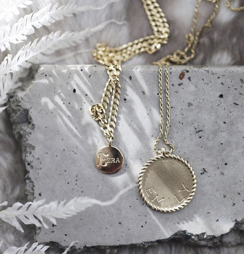Medallion Signet Necklace