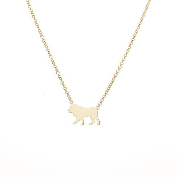 The Menagerie :: lion -- Ariel Gordon Jewelry