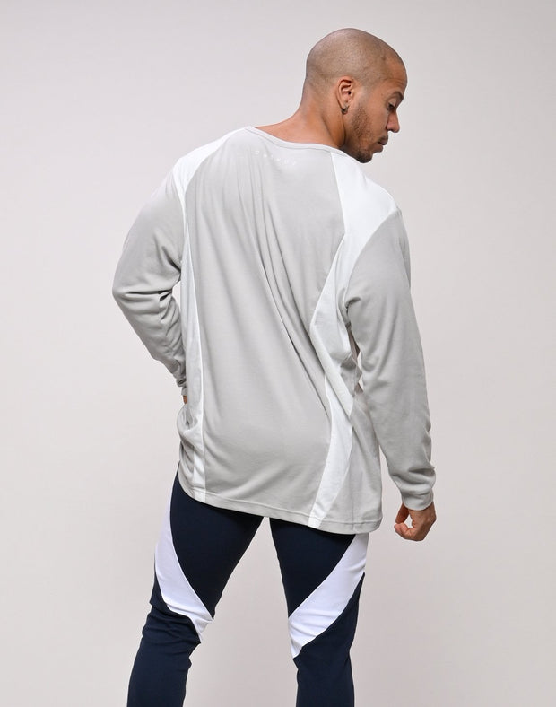 CRONOS LATS LINE LONG SLEEVE【GRAY】