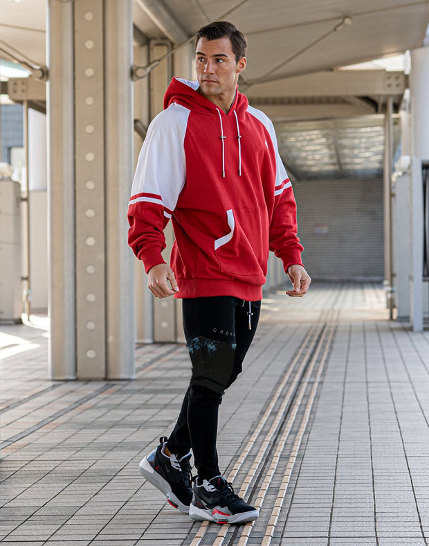 CRONOS DELTOID COLOR HOODY【RED】