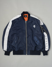 CRONOS NEW BOMBER JACKET【NAVY】