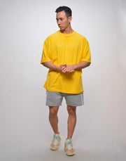 CRONOS ORDINARY LOGO T-SHIRTS【YELLOW】