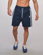 CRONOS SIDE 2STRIPES SHORTS【NAVY】