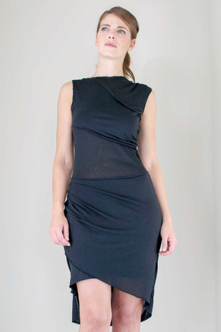 The Joanna Dress in Black