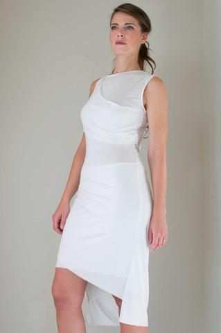 The Joanna Dress in White