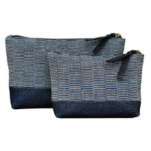 "Load image into Gallery viewer, Accessory bags ""Indigo"" (Set of 2)(L&S)"
