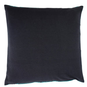 "Cushion cover ""Vietnamese Diamond"" (Aqua)"