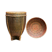 "Load image into Gallery viewer, Bamboo basket ""Dome"" (M)"