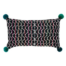 "Load image into Gallery viewer, Cushion cover ""Karen Pompom"" (Green)"