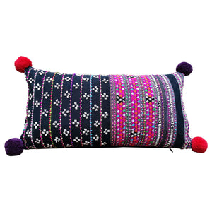 "Cushion cover ""Karen Pompom"" (Multi)"