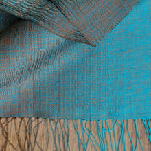 "Load image into Gallery viewer, Silk scarf ""Bronze"""