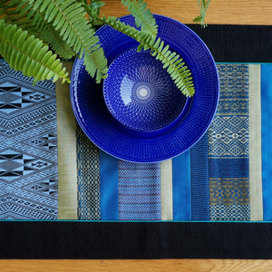 Table runner (Blue/Green)(150 cm)