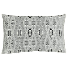 "Load image into Gallery viewer, Cushion cover ""Vietnamese Diamond"" (White) (Rectangular)"