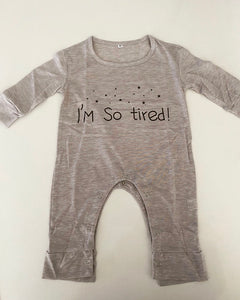 """I'm So Tired"" Romper"