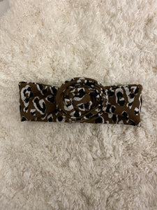 Mini Leopard Head Wrap