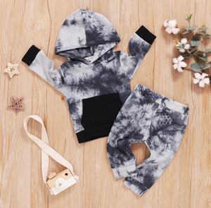 Ribbed Tie Dye Jogger Set