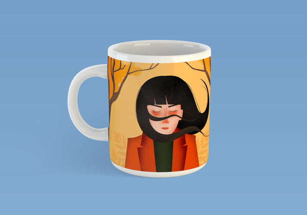 Autumn Hair Mug