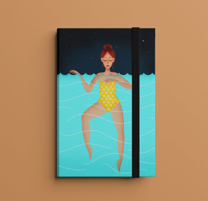 PRE ORDER! Night Swimming Notebook (inc. UK P&P)
