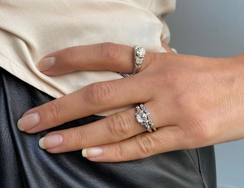 Five Steps to Picking the Perfect Wedding Band for Your Engagement Ring