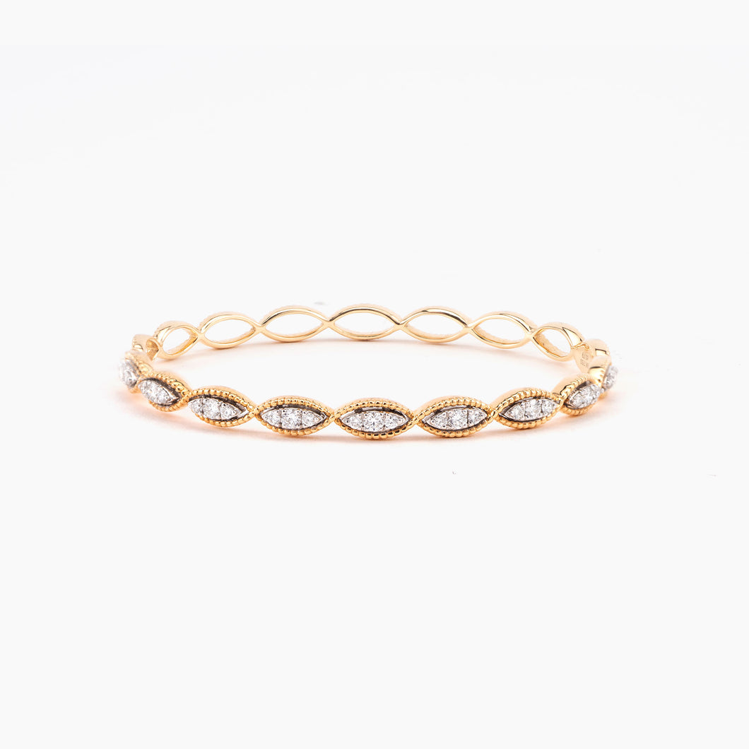 DIAMOND INFINITY BANGLE