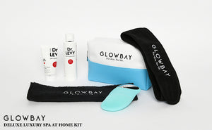 GlowBay Deluxe Luxury Spa At Home Skin Kit